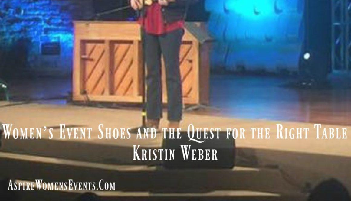 ASPIRE Blog-Kristin Weber - Shoes