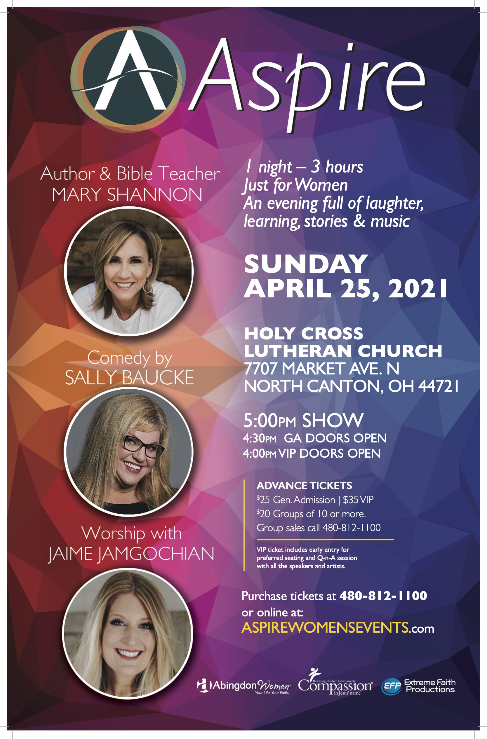 ASPIRE SUN-April 24-Canton OH