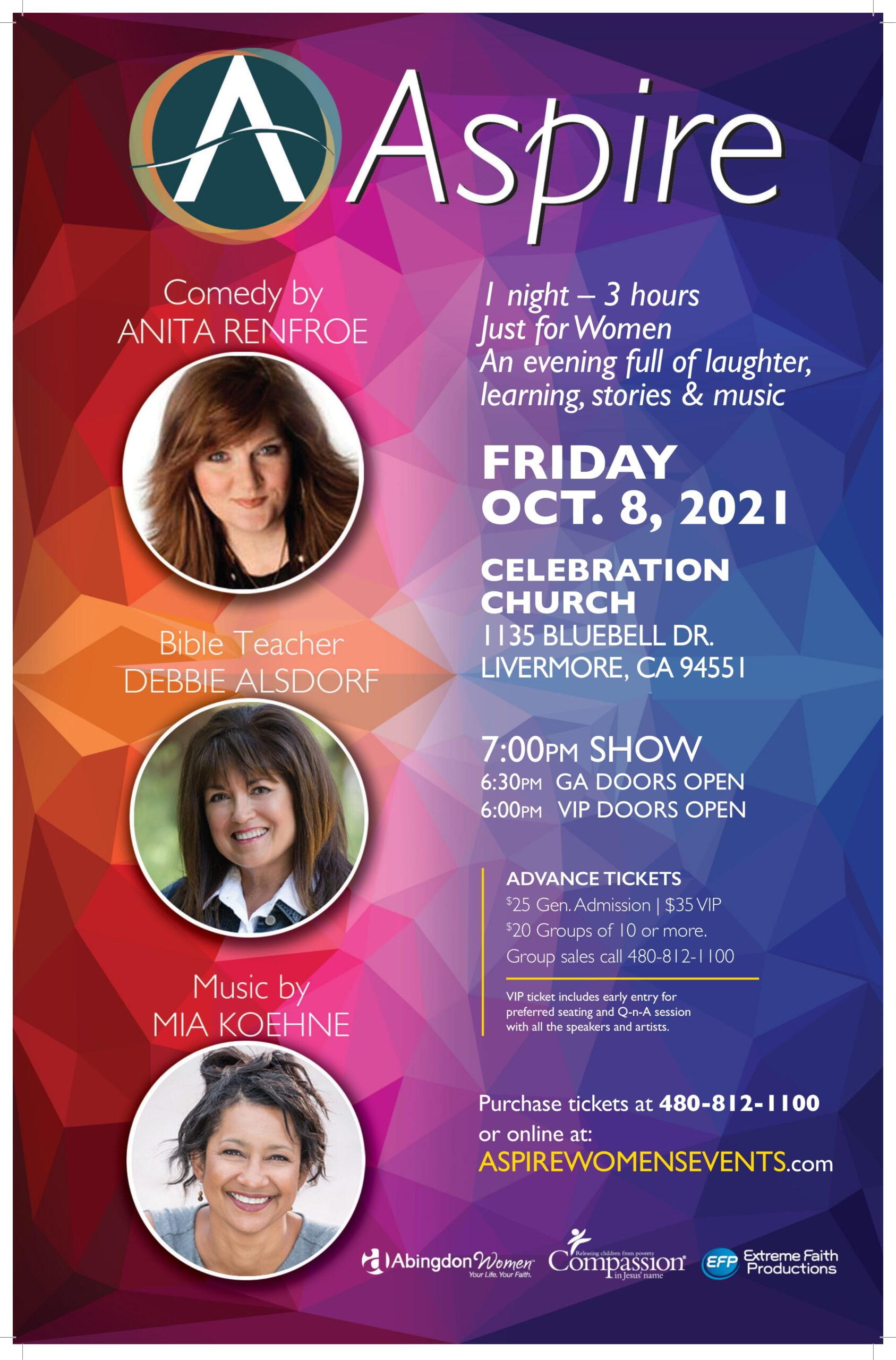 ASPIRE FRI Oct 8 Livermore CA-Poster