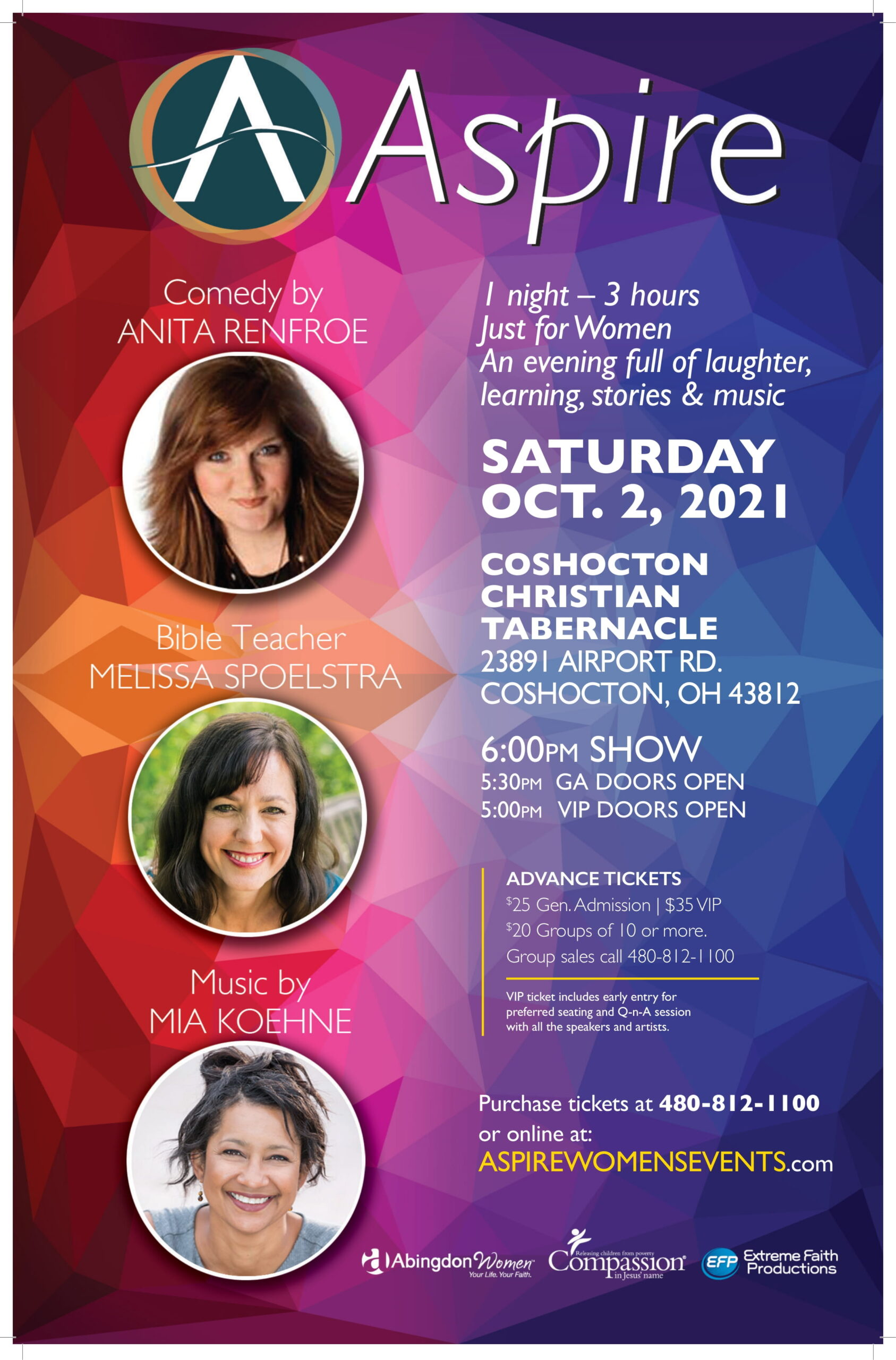 ASPIRE SAT Oct 2 Coshocton OH-Poster