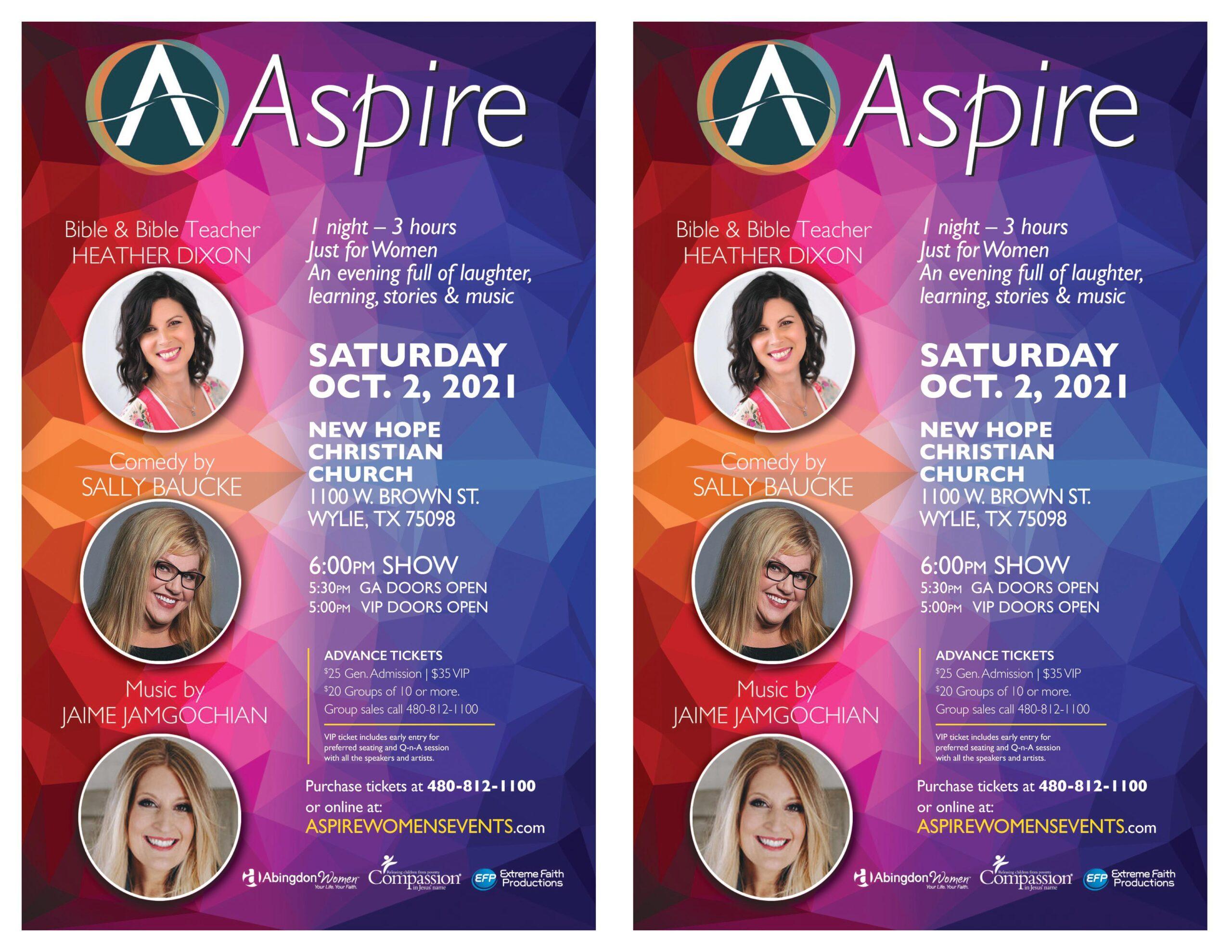 Aspire_SAT Oct 2 Wylie TX - Flier